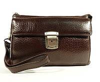 Клатч мужской классика clutch коричневый Desisan 247, фото 1