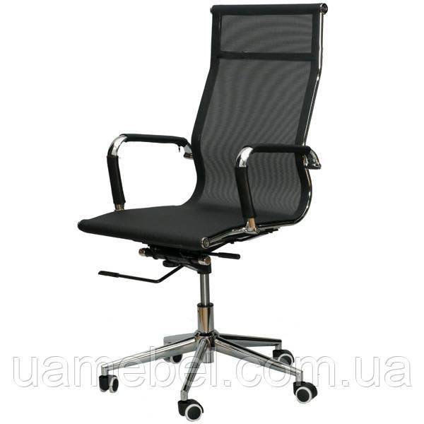 Крісло для керівника Solano mesh black E0512