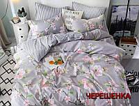 """Евро макси набор постельного белья 200*220 из Бязи """"Gold"""" №157537AB Черешенка™"""