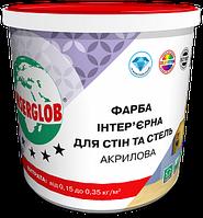 """Anserglob краска интерьерная акриловая """"для стен и потолков"""" 7кг"""