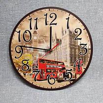 Настенные часы для кабинета английского языка. London