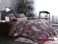 """Двуспальный набор постельного белья 180*220 из Бязи """"Gold"""" №157538AB Черешенка™"""