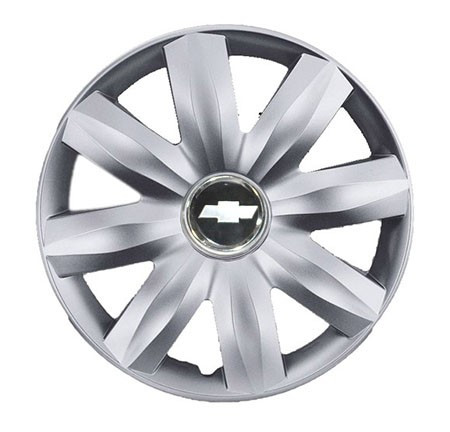 """Колпаки для колес 14"""" c логотипом автомобиля 4 шт (SKS 221) Шевролет"""
