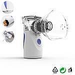 Ингалятор небулайзер МЕШ для детей и взрослых Doc-team Mesh небулайзер ультразвуковой небулайзер мембранный, фото 2