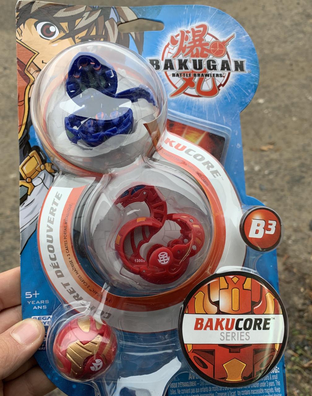 Набор Бакуган Bakugan из 3 штук
