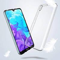 Прозрачный силиконовый чехол для Huawei Y5 2019