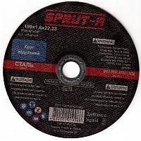Отрезной круг по металлу Sprut-A 115 x 1,2 x 22,2 Спрут-А для болгарки