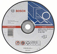 Отрезной круг по металлу Bosch Expert 230 x 2,5 мм на болгарку Бош вогнутый 2608600225