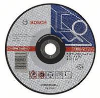 Отрезной круг по металлу Bosch 180 x 3 мм на болгарку Бош вогнутый 2608600321