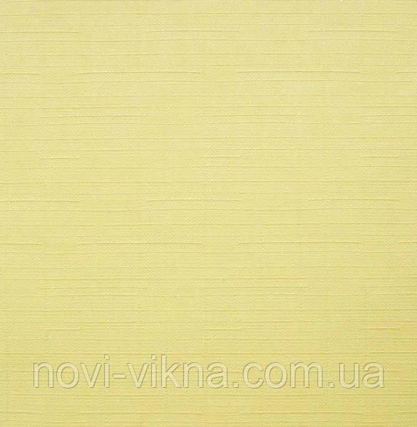Рулонные жалюзи открытого типа, Len 2072, желтые.