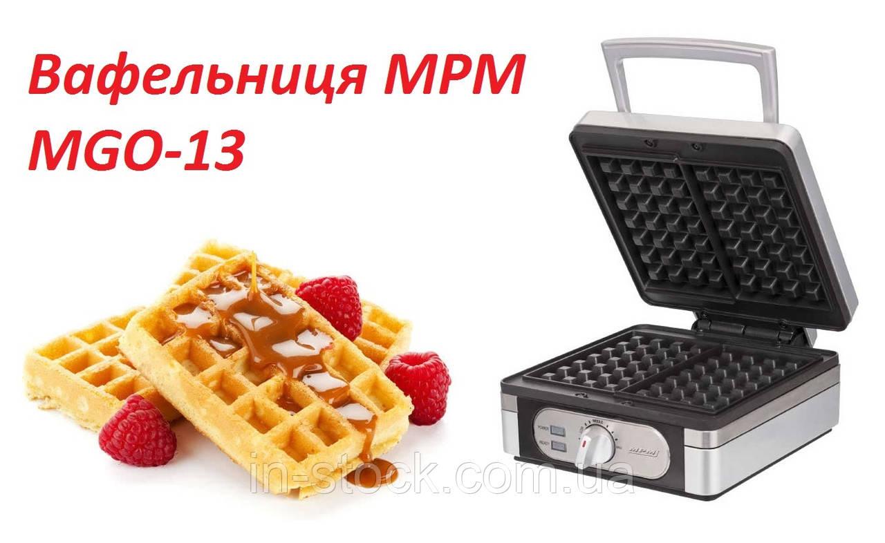 Вафельниця MPM MGO-13