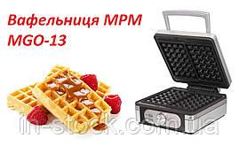 Вафельница MPM MGO-13