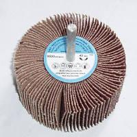 Шлифовальный лепестковый круг с оправкой Белгородский абразивный завод 60 x 30 Р40 - Р400 КЛО БАЗ