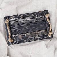 Деревянный поднос Elegance 25*40 см / Разнос / Поднос из дерева / Фото-фон / Поднос для horeca, фото 1