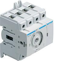 Выключатель напряжения (рубильник) поворотный 400/690В 40А, 4п, 3.5м (HAB404)