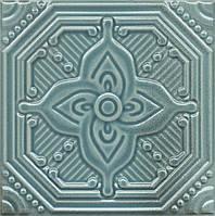 Керамическая плитка Декор Салинас лазурный 15x15x6,9 SSA004