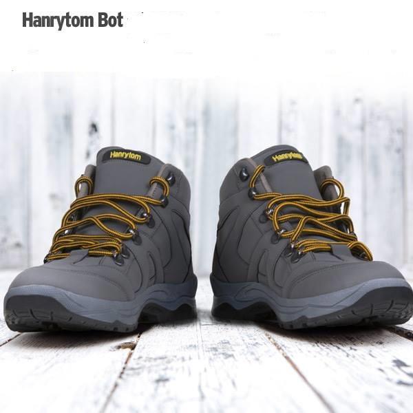 Ботинки, кроссовки осенне-зимние унисекс больших размеров на широкую ногуHANRYTON, Турция