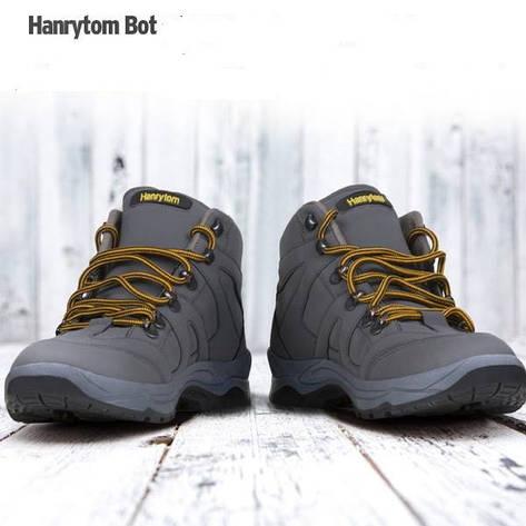 Ботинки, кроссовки осенне-зимние унисекс больших размеров на широкую ногуHANRYTON, Турция, фото 2