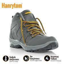 Ботинки, кроссовки осенне-зимние унисекс больших размеров на широкую ногуHANRYTON, Турция, фото 3