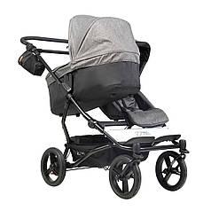 Детская коляска 2 в 1 для двойни Mountain Buggy Duet Herringbone Luxury Collection