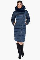 Женская зимняя куртка воздуховик сапфировый