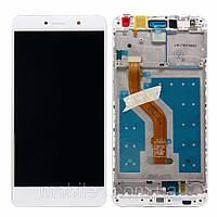 Дисплей (LCD) Huawei Y7 (2017) | Y7 Prime | Nova Lite+ | TRT-L21 | TRT-LX1 с тачскрином и рамкой, белый