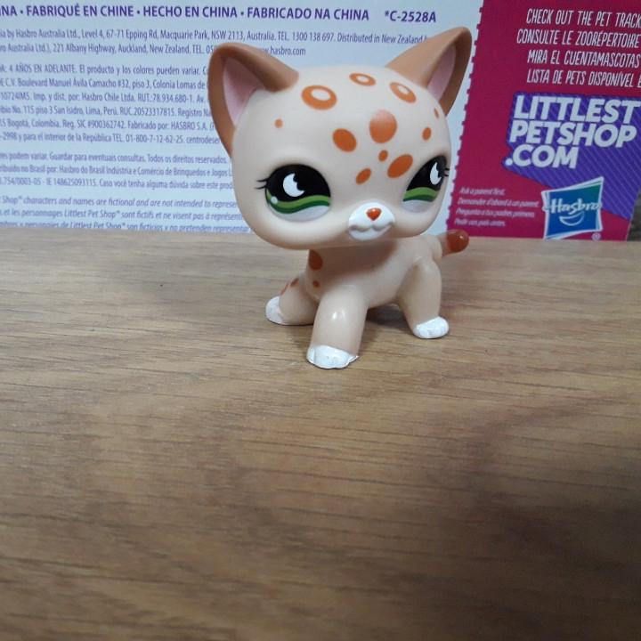 Lps littlest pet shop стоячки - лпс кошка Hasbro #852 -старая коллекция