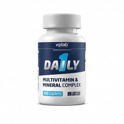 Вітамінно-мінеральний комплекс VPLab Daily 1 100 caps, фото 2