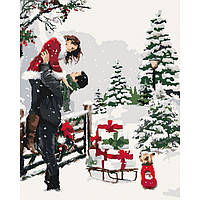 Картина по номерам Приятные подарки, 40х50см