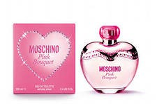 Moschino Pink Bouquet туалетная вода 100 ml. (Москино Пинк Букет)