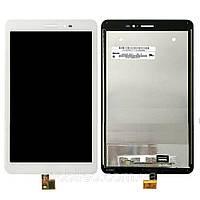 Дисплей (LCD) планшет Huawei MediaPad S8-701U с тачскрином, белый