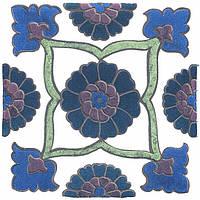 Керамическая плитка Декор Альба 9,9x9,9x7 HGD\A217\1146T