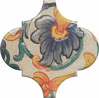 Керамическая плитка Декор Арабески котто орнамент 6,5x6,5x7 OP\A162\65000