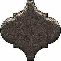 Керамическая плитка Декор Арабески котто металл 6,5x6,5x7 OS\B45\65001