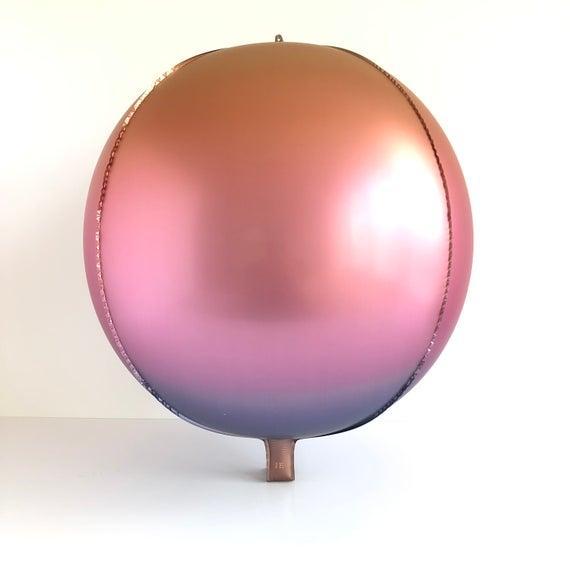 4D Градиентная сфера  градиент 1 22''(55см)