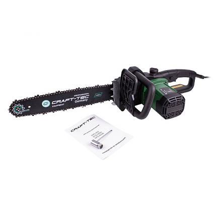 Пила цепная электрическая Craft - tec EKS - 405 (автоматическая натяжка цепи), фото 2