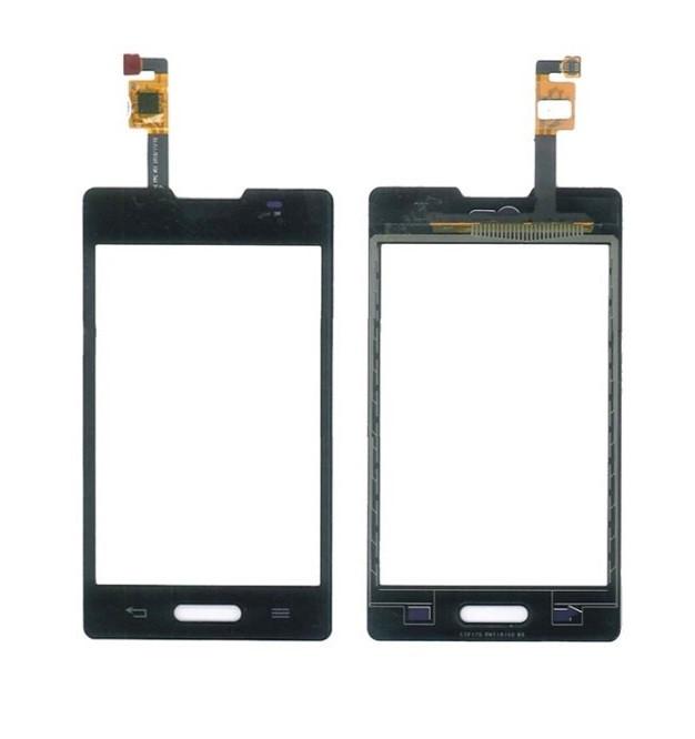 Сенсор (Тачскрін) для LG E440   L4 II One Sim (Чорний) Оригінал Китай