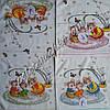 Кухонное полотенце лен-махра Семейка крыс