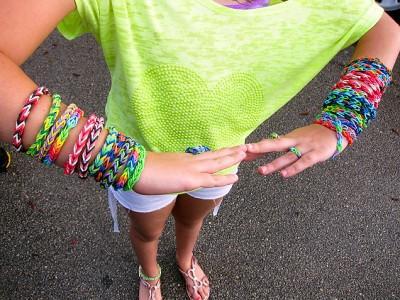 Наборы для плетения браслетов rainbow loom