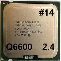 Процессор ЛОТ#14 Intel Core 2 Quad Q6600 SLACR 2.4GHz 8M Cache 1066 MHz FSB Socket 775 Б/У, фото 1