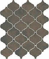 Керамическая плитка Арабески котто коричневый 26x30x7 65004