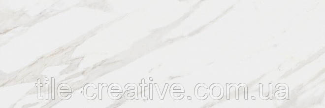 Керамическая плитка Прадо белый обрезной 40x120x10 14001R