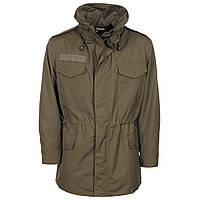Австрийская военная куртка с мембраной Gore-Tex, камуфляж олива. Б/У, фото 1