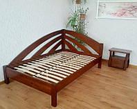 Кровать угловая деревянная КРОВАТЬ Центр Радуга сосна, ольха