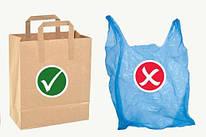 Бумажные пакеты VS полиэтиленовые пакеты