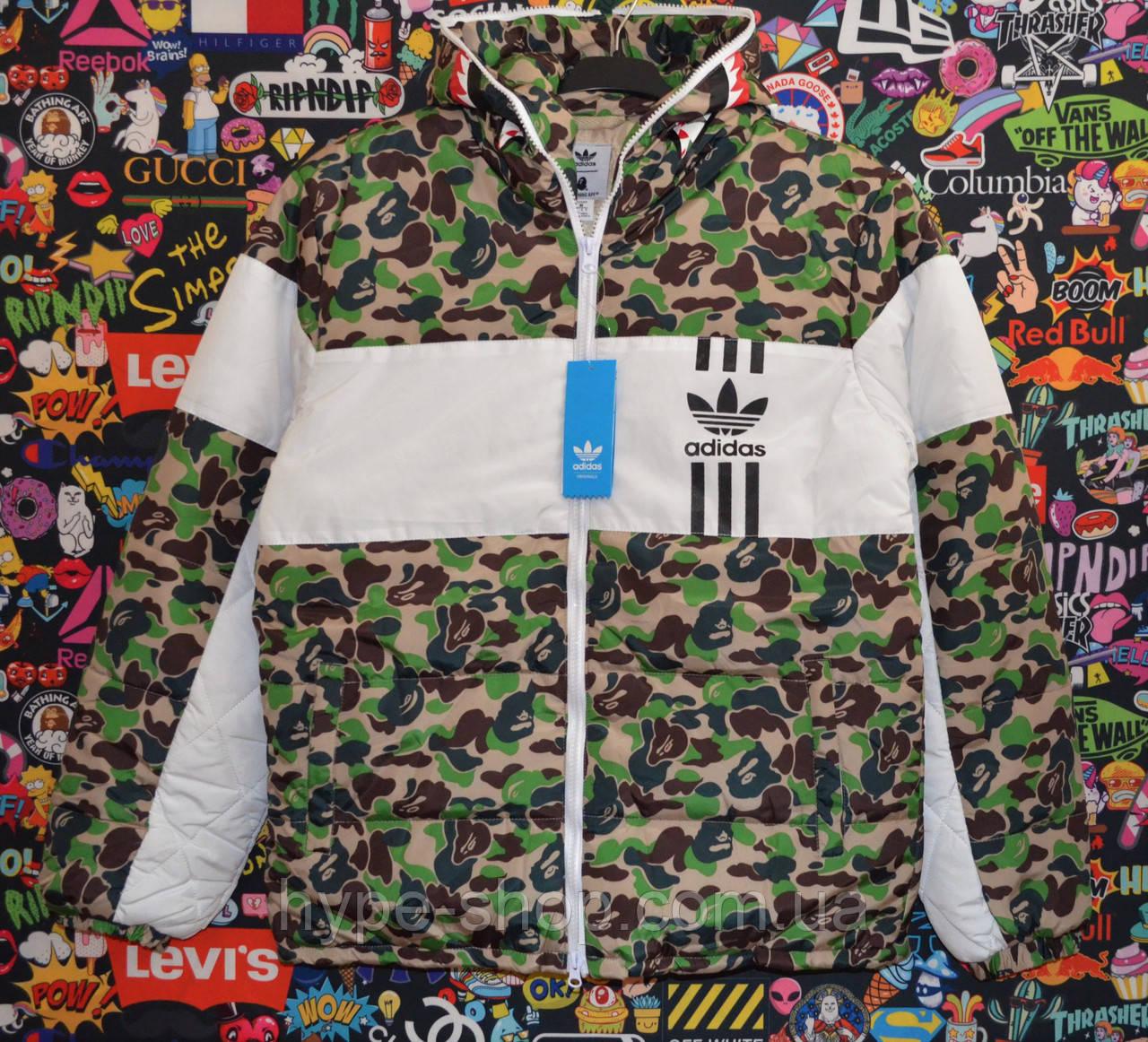 Куртка Bape x Adidas Реплика