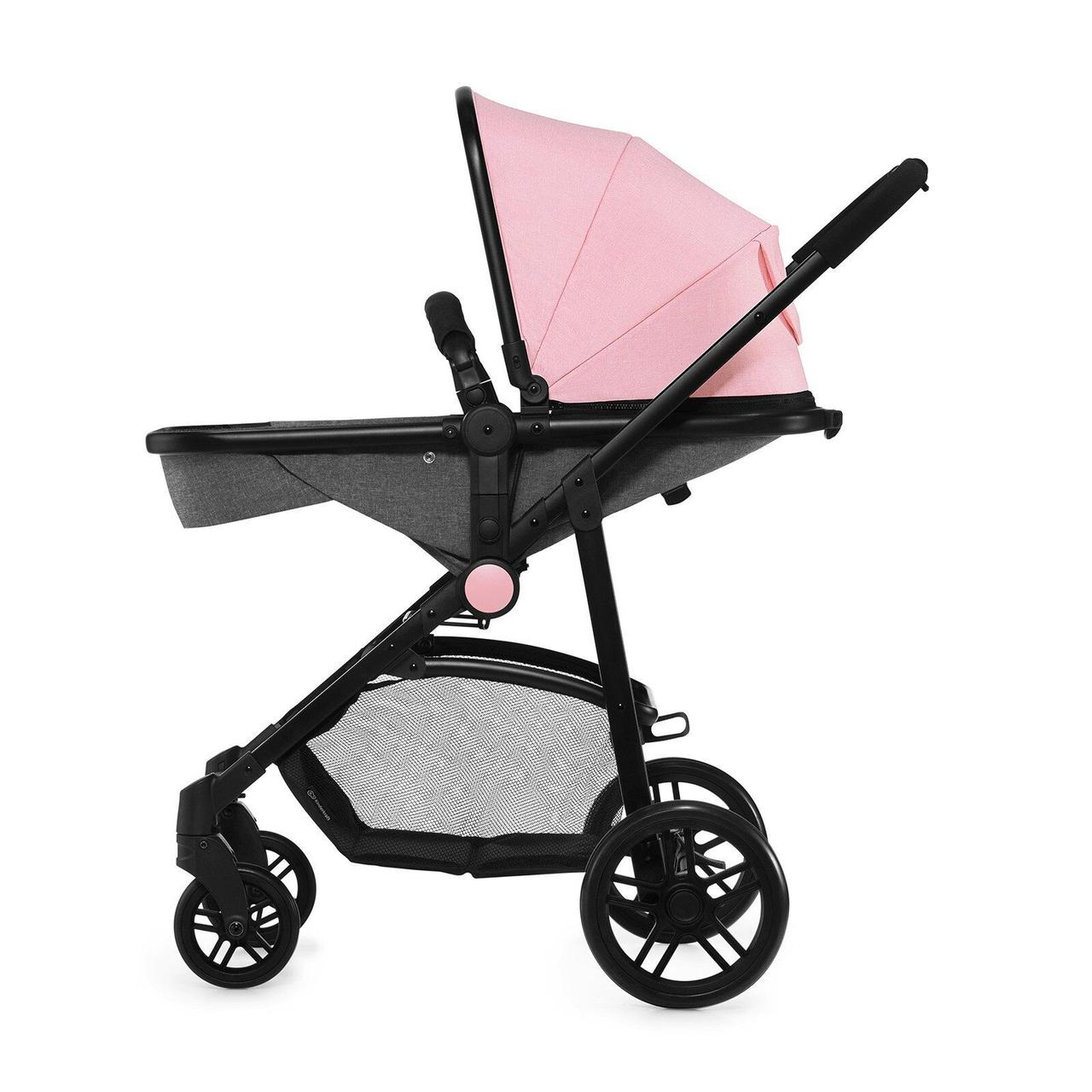 Коляска Kinderkraft Juli Pink 3в1