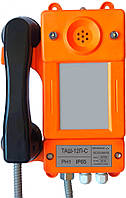 Общепромышленный телефонный аппарат без номеронабирателя со световой индикацией вызова ТАШ-12П-С