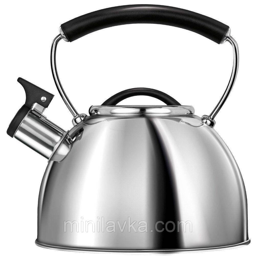 Чайник MPM MCN-11/P 3 л со свистком