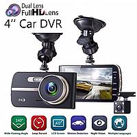 Видеорегистратор  DVR DV410 Metalic с камерой заднего вида. Видео регистратор.